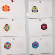神聖幾何学ハレアート初級クラス1日目でした❤