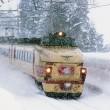 雪と闘う!ボンネット「はくたか」