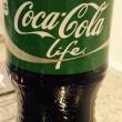 緑のコーラ!?