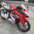 新車「レブル・250cc」・やっとこさ入荷☆