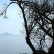今朝の琵琶湖