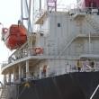 日本籍木材運搬船の倉内で乗組み3人が死亡