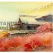 水彩画 清水寺の紅葉