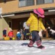 エンジェルクラス:雪遊び