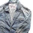 パリつれづれなるまま に買い付け-1488/Pepe Jeans veste en denim L size