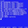 BlueMSXでMSX2+の漢字BASICを使う PCのメモ帳を超活用