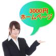 3000円ホームページ
