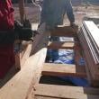床材の加工