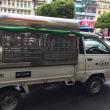 ヤンゴンで活躍する日本の車