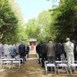 2018年4月16日 枝下川神社 通水始め式(始水式)