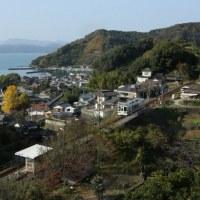 山の上の無人駅 I Love 肥薩おれんじ鉄道