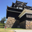 松江城と孫(末っ子)