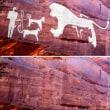 8千年以上前の最古の飼い犬の壁画発見