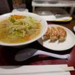 タンメンと餃子