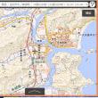 地図で自宅や勤務先や通学先学校の標高を調べる方法。避難場所情報載せたパンフレットを宇十社に配る。徳島県美波町。