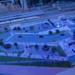 日本最大級の面積を誇るリニア・鉄道館ジオラマの昼と夜の風景