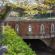 2018.03.31 世田谷区 深沢 呑川親水公園: 呑川にかかるシックな橋