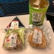 東京に向かう新幹線車内で昼食