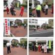 松原市で二輪車安全指導街頭キャンペーン!