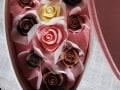 薔薇のチョコレート と 御園棚