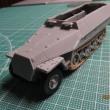 Sd.Kfz251/10 Ausf.D w/3.7cm Pakの作りかけを作る