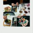 今日はクリスマスリースタボレッタ作りでした