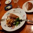 鯛のソテーきのこソース