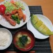 エビフライ定食・・・炊屋食堂の大人気メニュー !