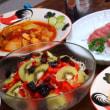 チキンとハヤトウリのトマト煮
