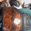 蛇革の胴台に付ける胸の制作