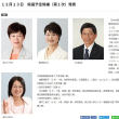 日本共産党滋賀県委員会は13日、2019年統一地方選挙の県議予定候補4氏(第1次分)を発表