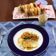 お昼の中華と夜のプチバーガー