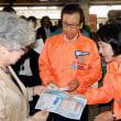 高橋道知事、秋元札幌市長が街頭で2割節電呼びかける