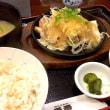 鶏ねぎ塩鉄板焼き御膳を頂きました。 at 番番 神谷町店