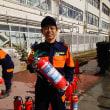 11月19日 本日は第六小学校防災訓練に消防団の一人として参加しました