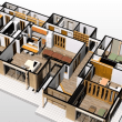 (仮称)おおらかに暮らしを包み込む数寄屋の家新築工事・・・計画をシーンからリアルに動かす途中計画、見積もりを精査しながら玄関・廊下・ホール・LDK・書斎・風景へとつながる意識のデザインも。