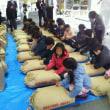 アジア・アフリカ支援米の発送式に出席