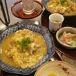 ティーサロン鎌倉山倶楽部の今日の懐石ランチは「信玄鶏の柳川風煮込み!!!」