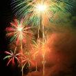 神明の花火大会
