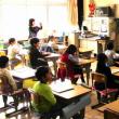 1・2年生の授業参観と学年部会をしました。