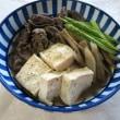 外食&肉豆腐&麻婆茄子丼&鯖の竜田揚げ