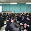 8日(金)生徒会選挙立会演説会がありました。南波多郷学館初代〇〇が決まります。