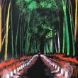 暇爺絵日記  嵐山ライトアップ