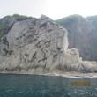 透明度の高い海と断崖絶壁の隠岐の島