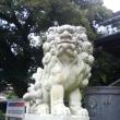 二荒山神社の狛犬