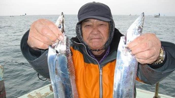 1月5日タチウオ狙い釣果