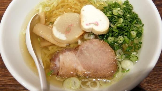 【カーボローディング】札幌ラーメン 直伝屋@マルヤマクラス 「あっさり塩」