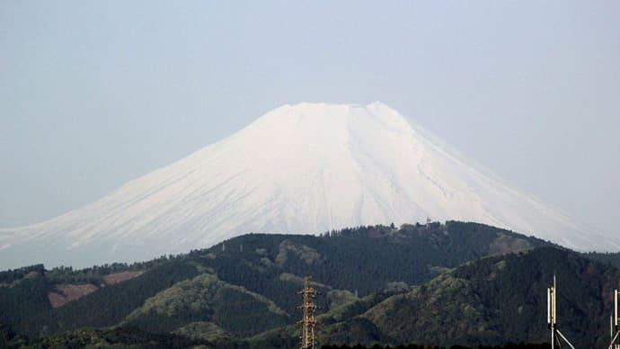今朝の富士山(2021/04/20)