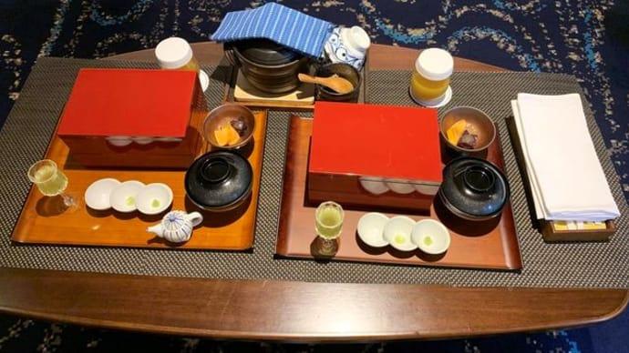 ホテル龍名館お茶の水本店*お部屋で朝食「龍御膳」&パブリックスペース