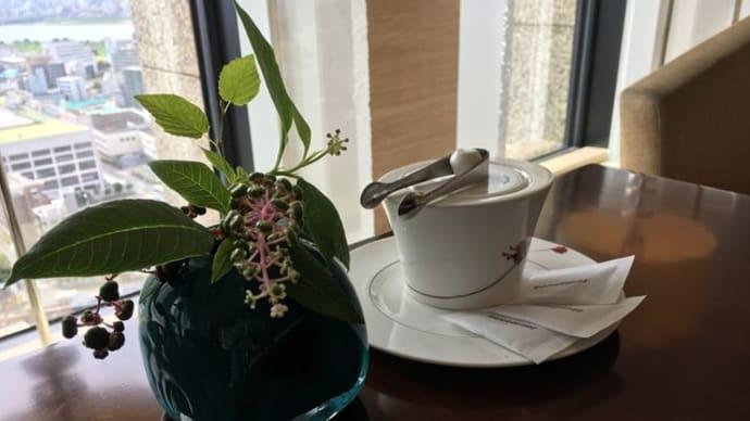 インターコンチネンタルホテル大阪*サマーアフタヌーンティー♪